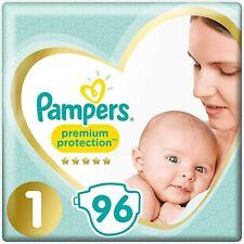 Nouvelle annonce Couches Pampers Taille 1 5 2kg 13kg+ Premium Protection Bébé Enfant Langes Promo
