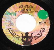 "Judy White 7"" 45 DJ PROMO HEAR NORTHERN SOUL Girls Can't Do What The Guys Do"