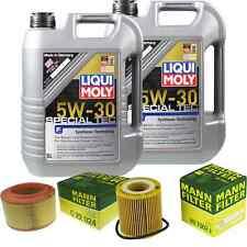 Inspection Kit Filter Liqui Moly Oil 10L 5W-30 for Ford Ranger Tke 2.2 TDCI 3.2
