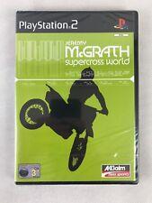 PS2 Jeremy McGrath Supercross World (2002), UK Pal, New & Factory Sealed