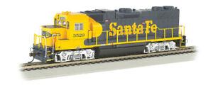 Bachmann 66801 HO Santa Fe  GP38-2 Cab # 3529  DCC & Sound