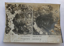Original Luftbild Angriff auf den Flugplatz von Lemberg Lwiw 1. September 1939
