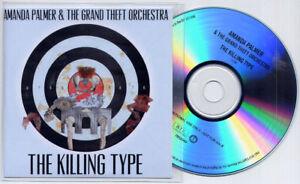 AMANDA PALMER & GRAND THEFT ORCHESTRA The Killing Type 2012 UK 1-trk promo CD