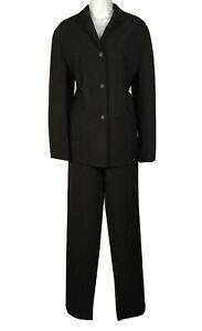 Women's Prada Black Blazer Pant Suit Size 40 US 6