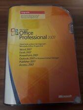 Microsoft Office 2007 Professional / Vollversion / deutsch / Upgrade 269-10270