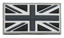 BRITISH FLAG UK GREAT BRITAIN UNION JACK SWAT 3D PVC HOOK & LOOP MILITARY PATCH