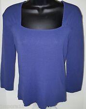 Joseph A. NWT Woman's Blue Shirt Size M