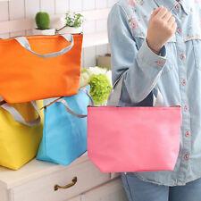 Outdoor Picnic Lunch Box Bag Dining Travel Purse Zipper Handbag Cooler Kids NEW