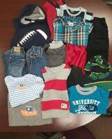 Lot of 14 boys' 18-24 mos. Jeans, Shirts, Hoodies, Shorts Gymboree Gap Place etc