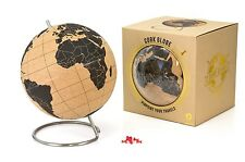 Suck UK Notice Large Cork Globe Message Travel Pin Boards Home Gadget Gift