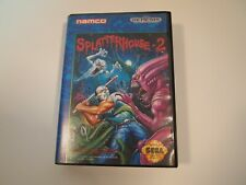 SPLATTERHOUSE 2 (Sega Genesis, 1992) Super Rare CASE (only) Authentic NEAR MINTY