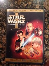 Star Wars Episode I: The Phantom Menace(DVD,2001,2-Disc)Authentic US release
