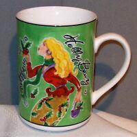 American Atelier at Home JINGLE BELLES 5419 Holiday Porcelain Mug