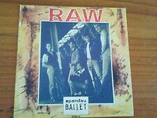 SPANDAU BALLET-RAW 3 TK CD IN CARD SLEEVE