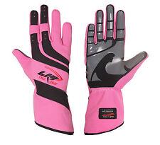 LRP Kart Racing Gloves- Speed Gloves Black/Pink