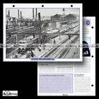 #117.02 Fiche Train - Chemin de fer : L'HISTOIRE DE LA SNCF de 1948 à 1965