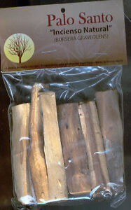 Wood Of Peru Stick Santo Incense Natural, Clean, Feng - Shui 1.8oz