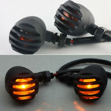 2 X Motorcycle Turn Signal Indicator Flash Light For Harley Davidson Cafe Racer