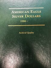 1986-2018 Uncirculated American Eagle Silver Dollar Collection, Littleton Album