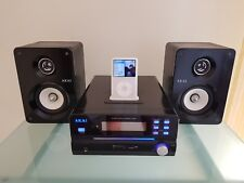 iPod Classic 80G Silver  plus chaine hi-fi AKAI et divers accessoires
