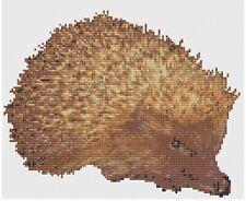 Hedgehog Cross Stitch Kit by Florashell