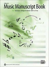 Alfred's Music Manuscript 12-Stave, Manuscript Paper - 33884