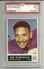 1965 Philadelphia #107 JIM MARSHALL PSA 7.5 Minnesota Vikings