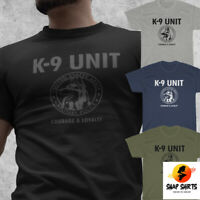 NEW K-9 Military Police Special Unit US Army Canine Squad T-Shirt