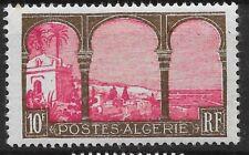 ALGERIE 10F N° 84 NEUF * GOMME COULEE AVEC TRACE DE CHARNIERE COTE 85 €