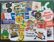 Stickers Lot from the 1980's (Unused)