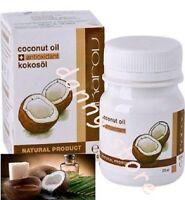IKAROV PURE COCONUT OIL ESSENTIAL OIL 60ml Hair & Skin Moisturizer + Antioxidant