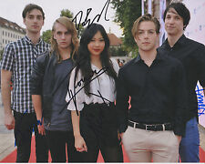 THE NAKED AND FAMOUS Signed 8X10 Glossy Photo c Hearts Like Ours Young Blood