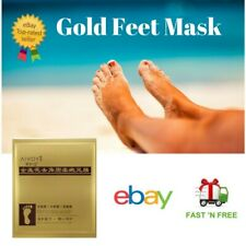 Exfoliating  Baby Soft Feet Peel Foot Mask Peeling Mask With Gold extract