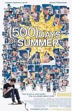 500 DAYS OF SUMMER Movie Promo POSTER Zooey Deschanel Joseph Gordon-Levitt
