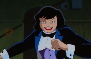 Batman Animated Series Original Production Cel Zatanna Close!