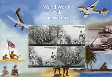 Tuvalu 2017 MNH WWII WW2 World War II 75th Anniv 4v M/S II Military Ships Stamps