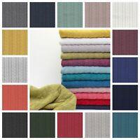 Cable Knit Jersey - Stretch Fashion Fabric Dressmaking Jacquard Sweatshirt