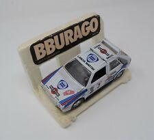 Lancia Delta S4 Burago 1:24 in White Rally Car Model Toy