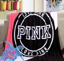 Super Soft Victorias Secret Stadium Blanket Pink Throw Great Gift/Free Ship