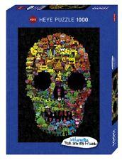 Heye Puzzles - Crâne de 1000pc Doodle