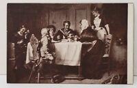 M.T. Sheahan Family Gathering Vintage Season's Greetings Postcard C12