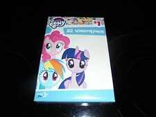 MY LITTLE PONY 32 VALENTINE'S DAY CARDS! 8 SWEET DESIGNS~~FREE AND FAST SHIPPING