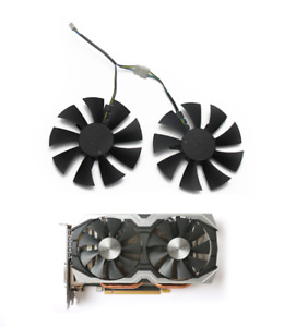 GA91S2H Fan Replace For ZOTAC AMP 1060 6 GB ZT-P10600B-10 Graphics Card Cooling