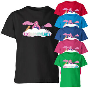 LDShadowLady Youtuber Kids T Shirt Funny Birthday Girls Novelty Tee Top
