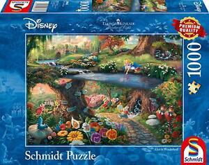 Alice in Wonderland: Schmidt Disney Premium Thomas Kinkade Jigsaw Puzzle 1000 p'