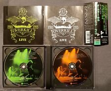 Overkill Wrecking Your Neck Live Japan 2CD PCCY-00768
