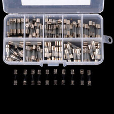 100pcs 5x20mm Quick Fast Blow Glass Assorted Fuse Kit 0.2A0.5A1A2A3A5A6A8A10A15A