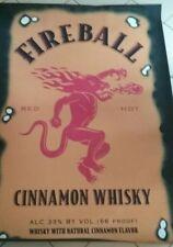 Fireball Whisky 5'×7' Bar Rug
