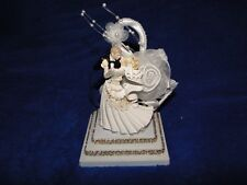 New Petite Elegant Wedding Cake topper with First Dance Bride & Groom