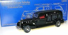 BROOKLIN csv.13, 1934 Miller-LASALLE type Carved Model Funeral Coach, Hearse, 1/43